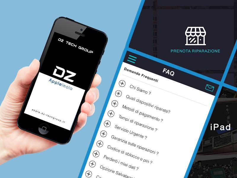 applicazione DZ Apple Imola